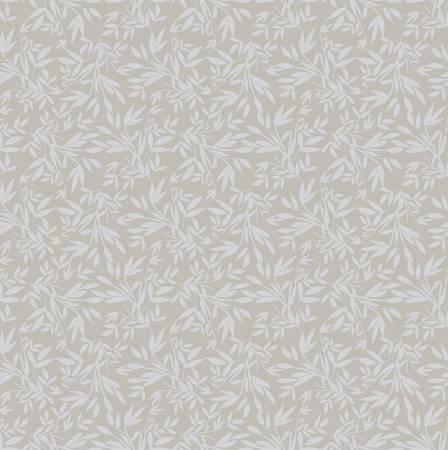 Blooms & Bobbins - Leaves - Gray