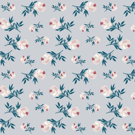 Blooms & Bobbins - Rose - Gray