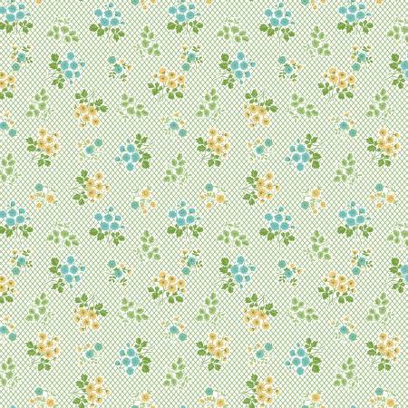 Granny Chic Bouquet Green C8515R-GREEN