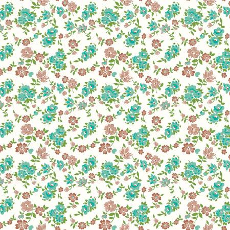 Granny Chic Sheets Teal C8516R-TEAL