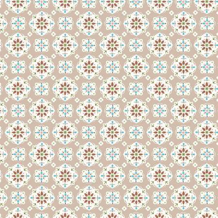 Granny Chic Wallpaper Brown C8517R-BROWN