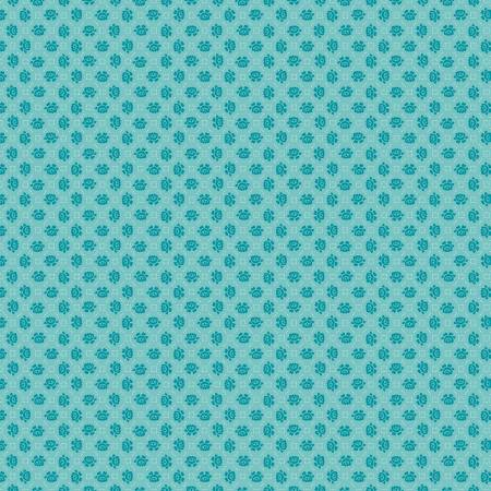 Granny Chic Needlepoint Blue