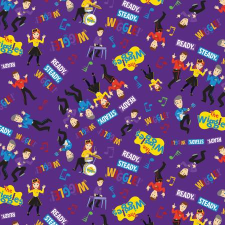 Wiggles Main Purple
