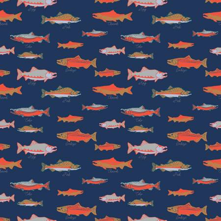 Northwest-Salmon Navy 8565