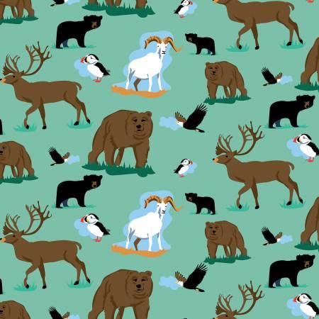 Northwest-Wildlife-Sea Foam- 8566