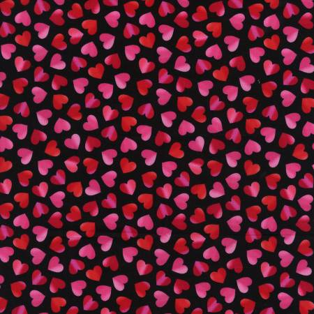 Red Large Ombre Hearts