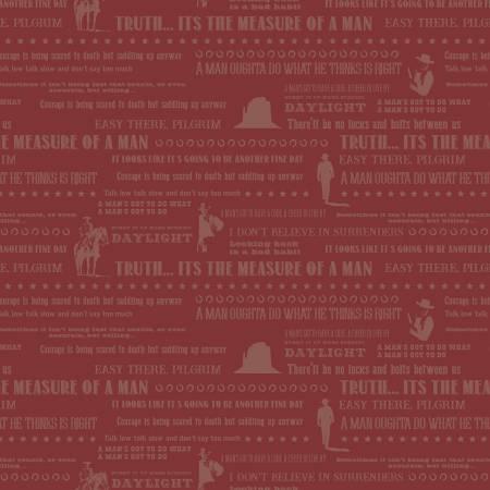 John Wayne Quotes Red
