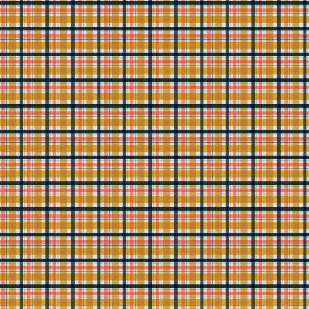 Godlen Days Plaid Mustard