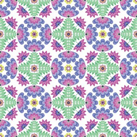 C8641-PURPLE Tile Purple Lucy's Garden Riley Blake