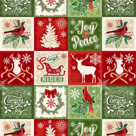 Christmas Squares Holiday -C5864