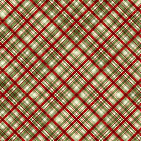 Christmas Diagonal Plaid