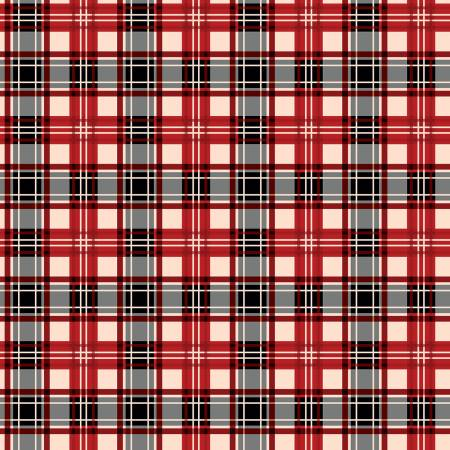 Christmas Plaid Red