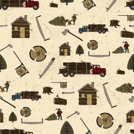 3199 Lumberjack Main Cream