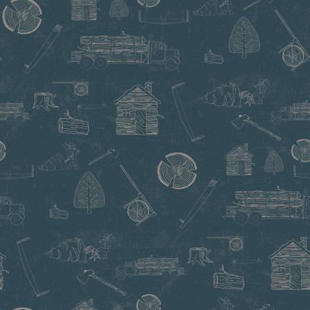 Lumberjack Aaron C8702-Blue