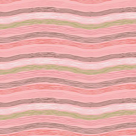 Sew Retro Waves Pink