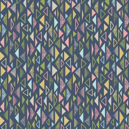 Sew Retro Triangles Navy