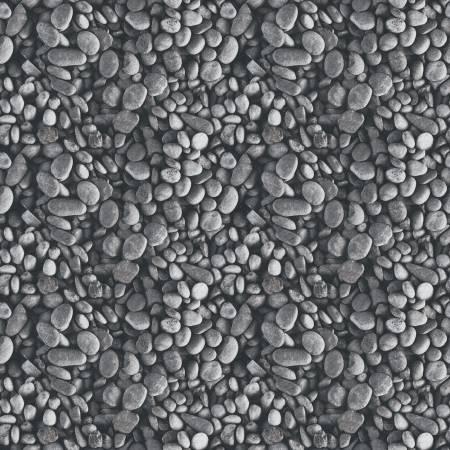Fish And Fowl Pebbles Gray
