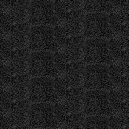 Ink Drawing--Black Moving Tiny Dots