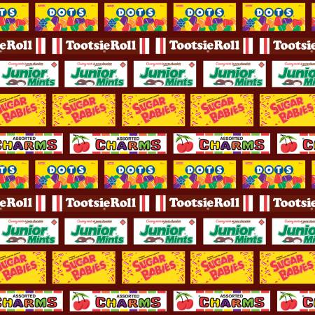 Candy Tootsie Stripe Brown