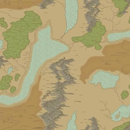 National Parks Map Sand