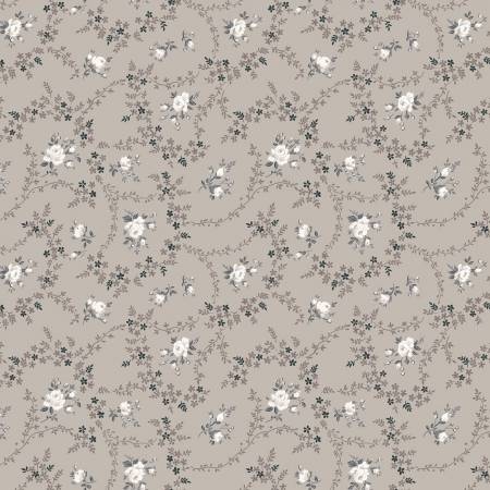 Serenity Rose Bouquet Taupe C8813