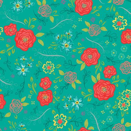 Wildflower Boutique Main Teal