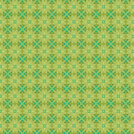 Wildflower Boutique Mosaic Green C8831-GREEN