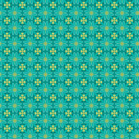 Wildflower Boutique Mosaic Teal C8831-TEAL