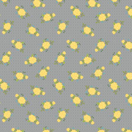 Wildflower Boutique Floral Gray