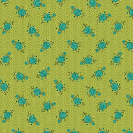 Wildflower Boutique Floral Green C8832-GREEN