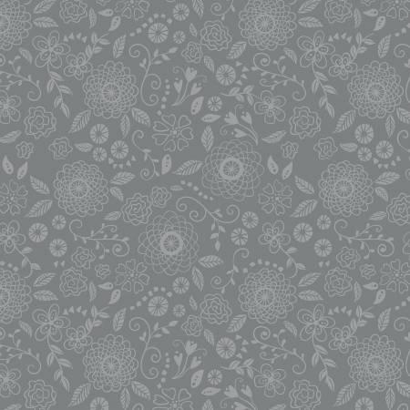 Wildflower Boutique - Line Work Gray C8833
