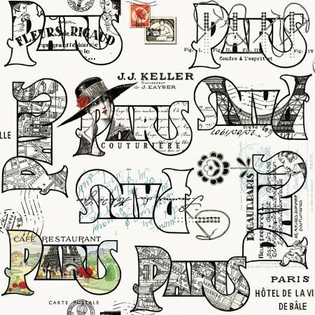 Couturiere Parisienne - Cartes Postales Cream