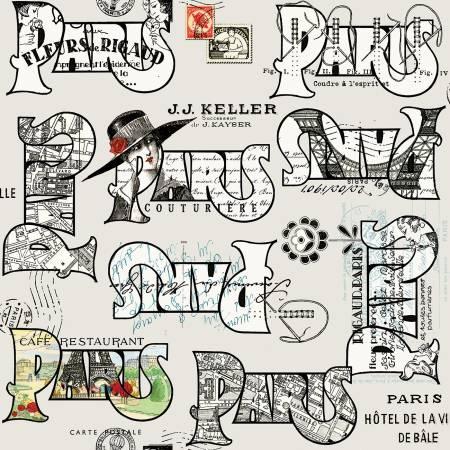 Couture Parisienne Cartes Postales Gray