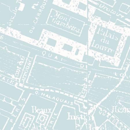 Couture Parisienne City Map Panel
