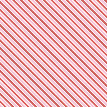 Love Letters Stripe Pink