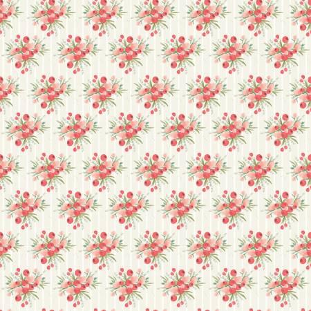 Flower Market Bouquets Cream by Jen Allyson for Riley Blake