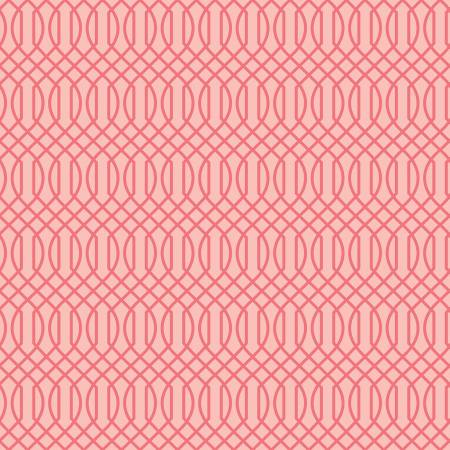 Flower Market - Geometric, Pink - by Jen Allyson for Riley Blake