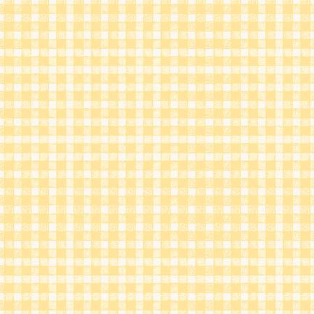 Flower Market Gingham Yellow