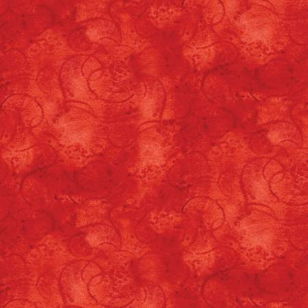Painters Palette - Swirl - Red