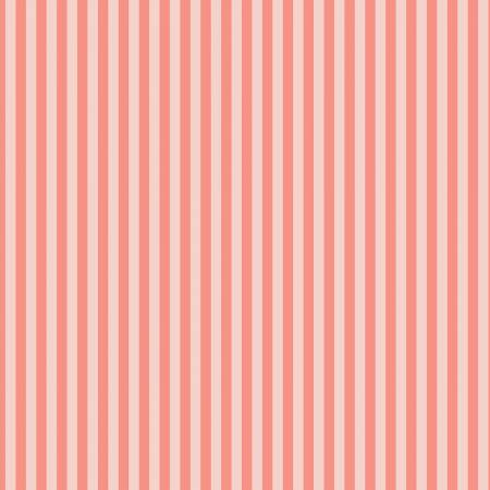 A Little Bit of Sparkle - Stripe Coral