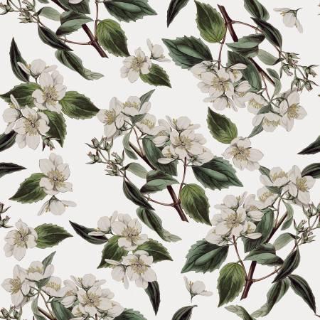Gingham Farm Botanical - Cream