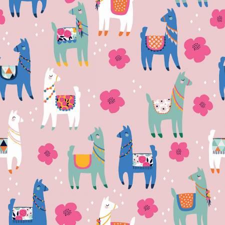 Novelty Llamas Pink