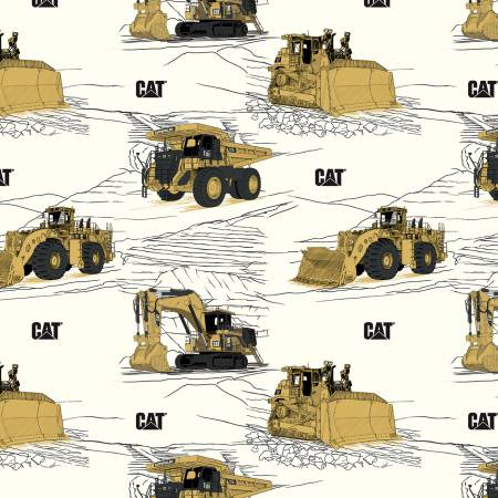 CAT C9100 Main White