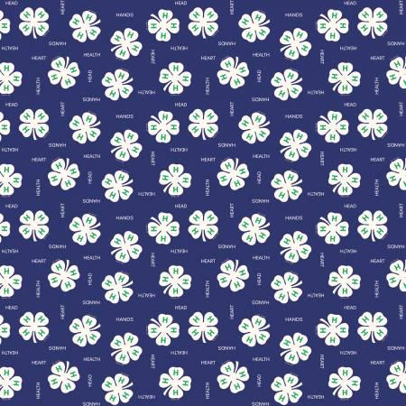 4-H Clover Blue