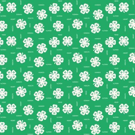 4-H Clover Green