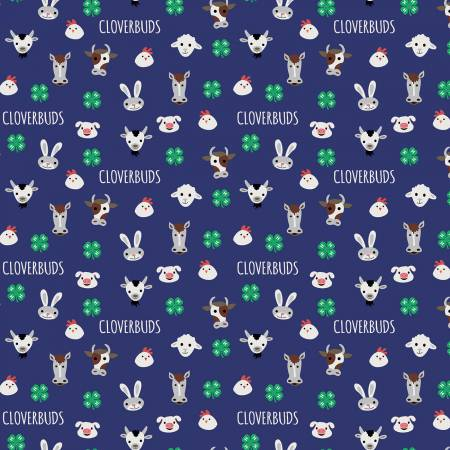 4-H Cloverbuds Blue