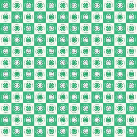 4-H Clover Blocks Cream