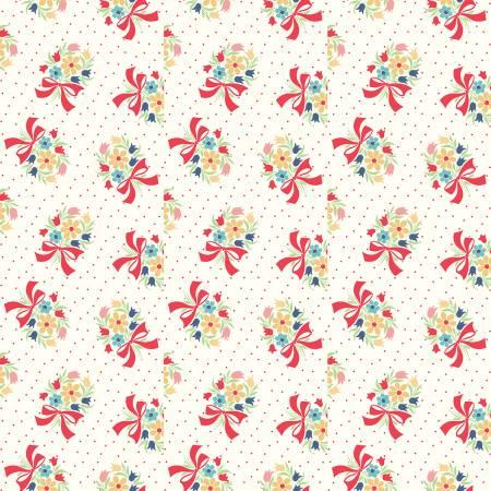 Vintage Happy 2 - Bouquet - Cloud
