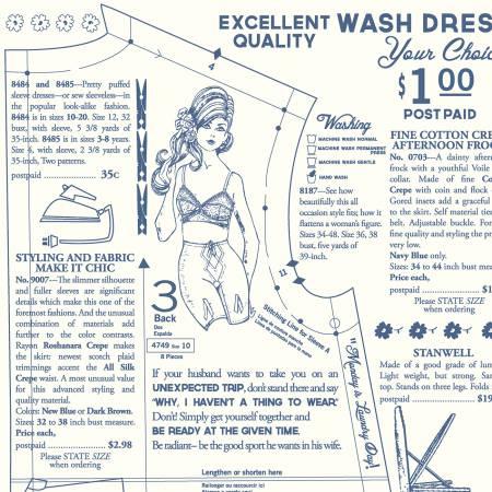 Vintage Happy 2 - Dressmaking - Cloud