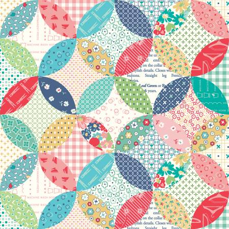 Vintage Happy 2 - Quilted - Multi